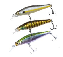 Воблер Megabite  Fatty Minnow 70SP (70мм,10гр, 1,4м)