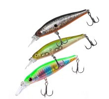 Воблер Megabite  Fatty Minnow 90SP (90мм,15,8гр, 1,3м)