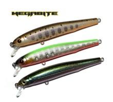 Воблер Megabite LB Minnow 80SP (80мм,  5,5гр, 0,8м)
