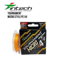 Шнур плетений Intech Tournament Micro Style PE X4 150м