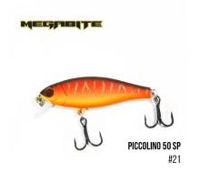Воблер Megabite Piccolino 50SP (50мм, 4,2гр, 0,5м)