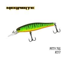 Воблер Megabite Pitty 75SP (75мм, 7,8гр, 1,8м)