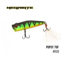 Воблер Megabite  Popsy 70F (70мм, 9гр)