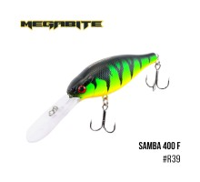 Воблер Megabite Samba 400F (70мм, 17,5гр, 4м)