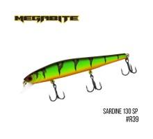 Воблер Megabite Sardine 130SP (130мм, 19,7гр, 1,8м)