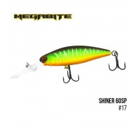 Воблер Megabite Shiner 60SP (60мм, 7,5гр, 2,5м)