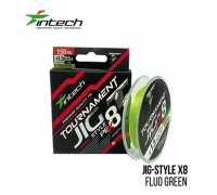 Шнур плетений Intech Tournament Jig Style PE X8 Lime Green 150м