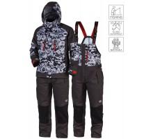 Демісезонний костюм Norfin Pro Dry 3 Camo (15000мм/8000г/м²)